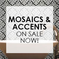 Mosaics & Accents on sale now